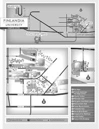 Map Of University Of Michigan by Campus Map Finlandia University Finlandia University