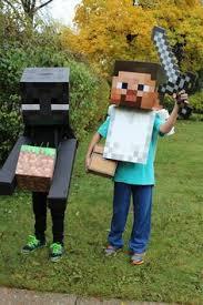 Halloween Minecraft Costume Minecraft Costume Body Costume Kit Steve Lemurapps