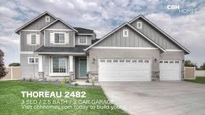 3 Car Garage Cbh Homes Thoreau 2482 3 Bed 2 Bath 3 Car Garage Youtube