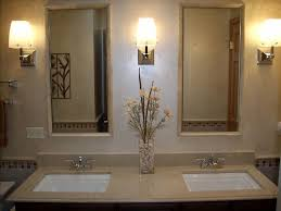 bathroom triple bathroom wall sconces combined with double wall
