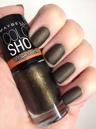 maybelline color show u2013 painted nails u0026 baking scales