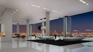 Small Penthouses Design by 6250 Hollywood Penthouse Los Angeles California John Aaroe Group