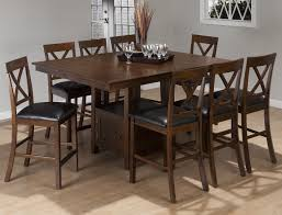 Counter Height Dining Room Tables by Jofran Olsen Oak Casual Counter Height Rectangle Table With