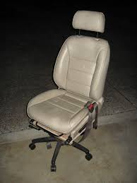Computer Desk For Car by Cheap Car Seat Office Chair 4 Steps With Pictures