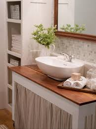 How To Make Small Bathroom Look Bigger 20 Small Bathroom Design Ideas Hgtv