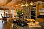 Black Red Beige Kitchen : Kitchen Cabinet Design Interior In ...