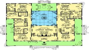 style home plans with courtyards on 1 story courtyard house plans