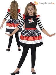 Kids Skeleton Halloween Costume by Day Of The Dead Kids Halloween Mexican Zombie Fancy Dress