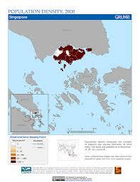 Map Grid Maps Population Density Grid V1 Sedac