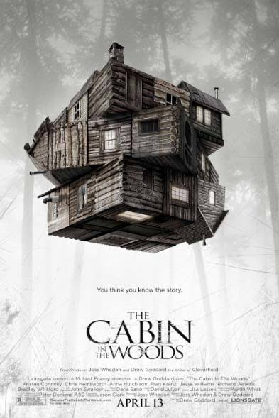 The Cabin in the Woods 2012 BluRay 720p 400MB ( Hindi – English ) ESubs MKV
