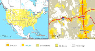 Wyoming Map Usa by What Are The Coverage Maps For U S Carriers Android Central