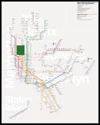 Map New York City by The New York City Subway Map Redesigned U2013 Tommi Moilanen U2013 Medium