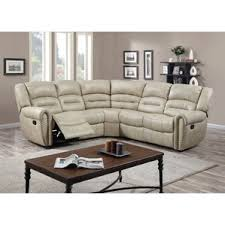leather sectional sofa recliner reclining sectionals birch lane