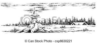 221 best clipart snow white clipart of winter scenery winter rural scenery christmas card
