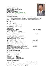 Job Resume Malaysia by Resume Sample Malaysia Custom Made Resumes