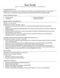 Example Resume  Career Objective And Professional Experience Also Education For Do You Need An Objective