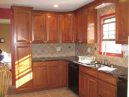 decorating awesome lowes kitchens for kitchen decoration ideas cherry cabinets by lowes kitchens with tile backsplash and sink for kitchen decoration ideas