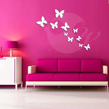 3d wall art stickers shenra com buy butterflies acrylic 3d wall art sticker 10 pieces online at