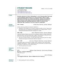 Resume Currently In College  education section resume writing