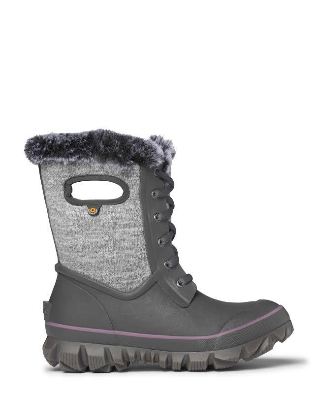 Bogs Arcata Knit Gray Multi Medium 6 72404-062-M-