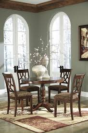 Ashley Furniture Dining Room Chairs Buy Ashley Furniture Leahlyn Round Dining Room Table Set