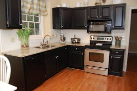 Painted Kitchen Ideas by Black Painted Kitchen Cabinet Ideas Kitchen Paint Color Ideas With
