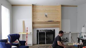 Custom Bookshelves Cost by Diy Built Ins Part 1 Withheart Youtube