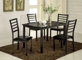 Sears Dining Room Tables Furniture Of America Black Kirtha 48 Inch Dining Table