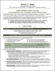 Accounting Resume Examples by Resume Samples For All Professions And Levels