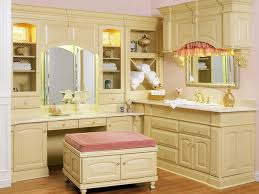 New Trends In Bathroom Design by Bathroom Makeup Vanity And Dressing Table A Spacious Cream Vanity
