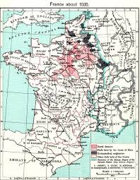 Map Of South Of France by Historical Maps Overview