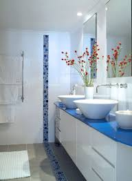 White Bathroom Accessories Set by Lovely Blue And White Bathroom Accessories Set Howiezine