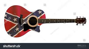 Rebel Flag Home Decor by Trend Confederate Flag Guitar 91 For Home Pictures With