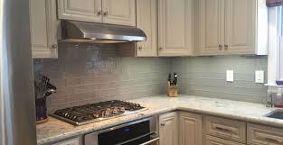 attractive subway tile kitchen backsplash dark cabinets tags