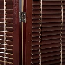 shutter room divider tranquility wooden shutter room divider espresso and natural 4 panel