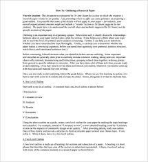 legend oa research paper outline format apa sample outline format outline Perfect Resume Example Resume And Cover Letter