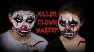 Halloween Male Makeup Siblings Killer Clown Makeup Face Painting Halloween Makeup