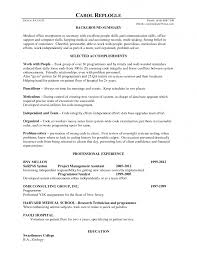 Summary Sample Resume by Job Resume Medical Receptionist Resume Sample Free Medical