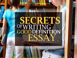 Writing a good definition essay Teodor Ilincai     How to Make a Definition Essay Perfect Marvelous Essays Blog MarvelousEssays org Definition Essay  middot  how to write a good