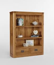 Low Narrow Bookcase by Knightsbridge Oak Small Bookcase With Drawers Fantastic