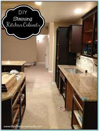 Restaining Kitchen Cabinets Restaining Kitchen Cabinets Darker Torahenfamilia Com Staining