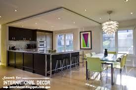 Contemporary Kitchen Design Ideas by Largest Album Of Modern Kitchen Ceiling Designs Ideas Tiles