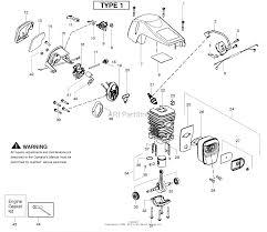 poulan pp4218av gas saw type 1 4218av poulan pro parts diagrams