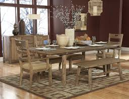Country Style Dining Room 100 Dining Room Table With Chairs And Bench Signature