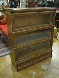 antique oak bookcase with glass doors furniture vintage barrister bookcase on store fascinating