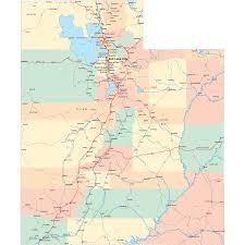 Map Of Colorado And Surrounding States by Utah Road Map Ut Road Map Utah Highway Map