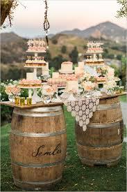 Shabby Chic Wedding Reception Ideas by Rock U0027n Rustic Wedding Dessert Tables U0026 Displays Dessert Table
