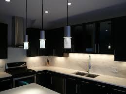 Painted Kitchen Backsplash Photos Black Color Painting Oak Kitchen Cabinet With White Marble