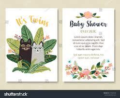 Sport Invitation Card Baby Shower Invitation Card Design Cute Stock Vector 574494736