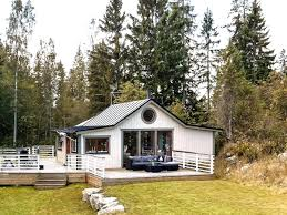 Lakeside Cottage Plans by Sweden Small House Bliss
